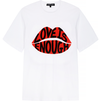 Alex Relaxed-Fit 'Love is Enough' Lip Tee