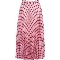 Hailey Iconic Lip Sunray Pleated Skirt