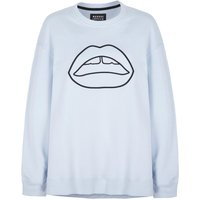 Josie Embroidered Lip Sweatshirt