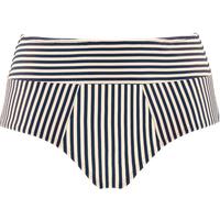Holi Vintage Highwaist Bikini Briefs    Blue-ecru - M