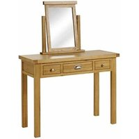 Product photograph showing Woburn 3 Drawer Dressing Table