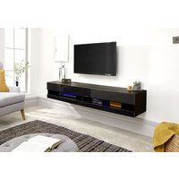 Product photograph showing Galicia 180cm Wall Tv Unit With Led