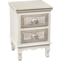 Product photograph showing Brittany 2 Drawer