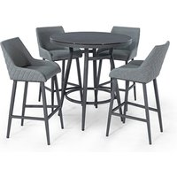 Product photograph showing Regal 4 Seat Round Bar Set