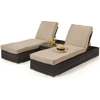 Product photograph showing Orlando Sunlounger Set