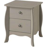 Provence 2 Drawer Bedside Cabinet