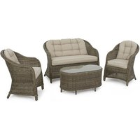 Product photograph showing Winchester Heritage Rounded Garden Sofa Set