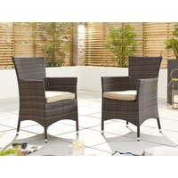 Product photograph showing Amelia Dining Chairs - Pair