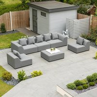 Product photograph showing Buddha Outdoor Fabric Sofa Set