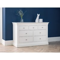 Product photograph showing Clermont 4 Plus 3 Drawer Chest