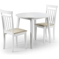 Product photograph showing Coast Dining Table And 2 Dining Chairs
