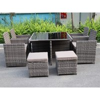 Product photograph showing Colman 4-8 Seater Cube Set