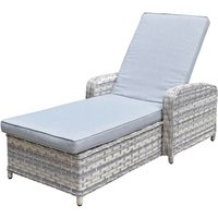 Product photograph showing Constance Sun Lounger
