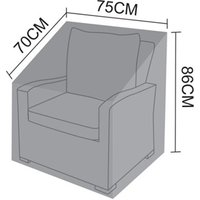 Product photograph showing Cover For Cambridge Armchair
