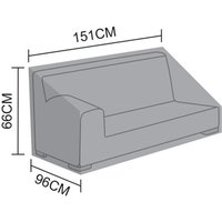 Product photograph showing Cover For Luxor Right Hand 2 Seat Sofa Section