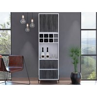 Product photograph showing Dallas Tall Bar Cabinet