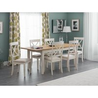 Product photograph showing Davenport Extending Table 6 Chairs