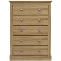 Product photograph showing Devon 5 Drawer Chest