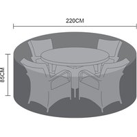 Product photograph showing Dining Set Cover - 4 Seat Round