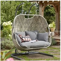 Product photograph showing Goldcoast Double Swing - Grey