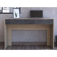Product photograph showing Harvard 2 Drawer Desk