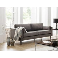 Product photograph showing Hayward Velvet Grand 3 Seater Sofa