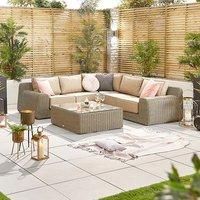Product photograph showing Luxor 1a Corner Sofa Set