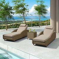 Product photograph showing Madison Sun Lounger Set