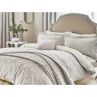 Hortensia blossom silver quilt cover