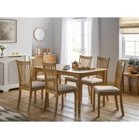 Product photograph showing Ibsen Dining Table 6 Ibsen Chairs