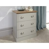 Product photograph showing Kendal 3 Drawer Chest