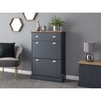 Product photograph showing Kendal Deluxe Shoe Cabinet
