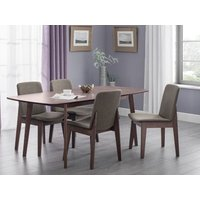 Product photograph showing Kensington Dining Table 4 Kensington Chairs