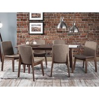 Product photograph showing Kensington Extending Beech Dining Set