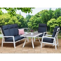 Product photograph showing Kimmie Five-seat High Back Sofa Set