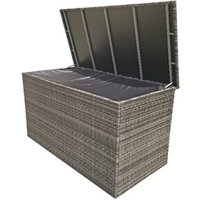 Product photograph showing Large Cushion Box - 8mm Flat Weave