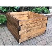 Product photograph showing Large Square Planter