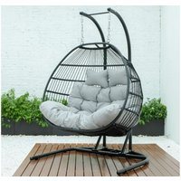 Product photograph showing Mallorca Foldable Double Swing Chair