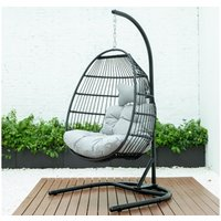 Product photograph showing Mallorca Foldable Swing Chair