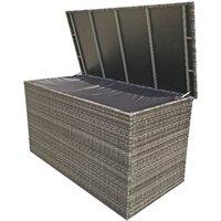 Product photograph showing Medium Cushion Box - 8mm Flat Weave