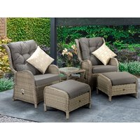 Product photograph showing Meghan Reclining Lounge Set