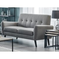Product photograph showing Monza 2 Seater Compact Retro Sofa