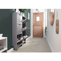 Product photograph showing Narrow 6 Drawer Shoe Cabinet
