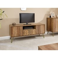 Product photograph showing Orleans 1 Drawer Tv Stand