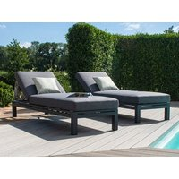 Product photograph showing Oslo Double Sunlounger Set