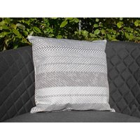 Product photograph showing Pair Of Bora Bora Grey Outdoor Scatter Cushions