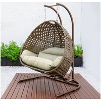 Product photograph showing Palermo Double Hanging Chair