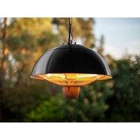 Product photograph showing Patio Heater - 1500w Chain Suspended