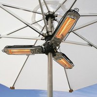 Product photograph showing Patio Heater - 2000w Parasol Heater