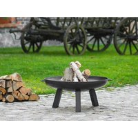 Product photograph showing Polo 80cm Fire Bowl